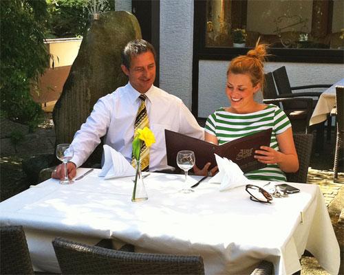 Hotel-Restaurant Blume Terrasse